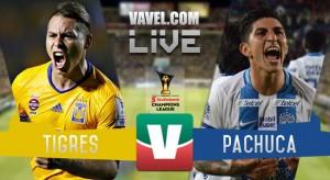 Resultado y goles del Tigres 1-1 Pachuca de la Concachampions 2017