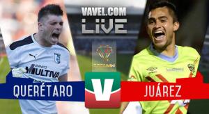 Resultado y goles del Querétaro 1-4 FC Juárez de la Copa MX 2017