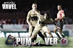 Previa Pumas - Veracruz: una guillotina para ambas partes