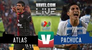 Resultado y gol del Atlas vs Pachuca en Liga MX (1-0)