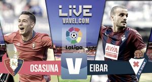 Resumen Osasuna vs Eibar (1-1)