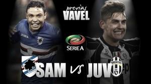 Previa Sampdoria - Juventus: duelo de equipos en forma