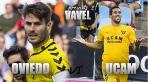 Previa Real Oviedo - UCAM Murcia: comienza la cuenta atrás