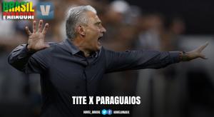 Como treinador, Tite tem retrospecto equilibrado contra adversários paraguaios; entenda