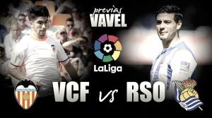 Previa Valencia - Real Sociedad: orgullo y Europa frente a frente