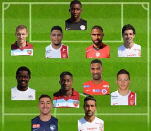 Ligue 2 : Equipe Type de la 33ème journée