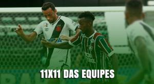 Confronto direto: Fluminense e Vasco para semifinal do Carioca