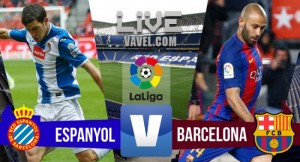 Resultado Barcelona x Espanyol online pelo Campeonato Espanhol 2017/18 (5-0)