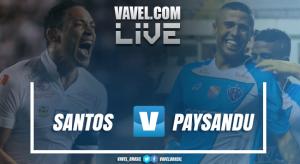Resultado Paysandu x Santos (1-3)
