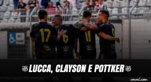 Especial Paulistão-17: Lucca, Clayson e Pottker, o trio ofensivo que é esperança de gols da Ponte