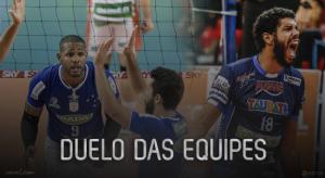 Decisão da Superliga trava duelo entre os dois melhores times da competição
