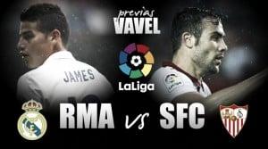 Previa Real Madrid - Sevilla FC: la Liga pasa por el Bernabéu