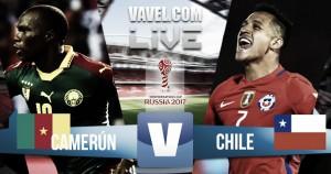 Resumen Camerún 0-2 Chile en Copa Confederaciones 2017