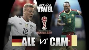 Previa Alemania - Camerún:último obstáculo antes delas 'semis'