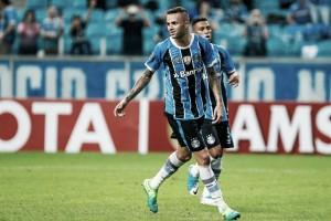 Luan iguala marca de gols de Hernán Barcos como maior artilheiro da Arena do Grêmio