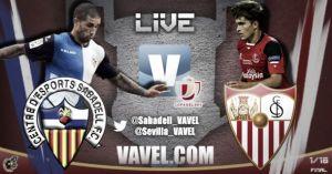 CE Sabadell vs Sevilla, Copa del Rey en vivo y en directo online