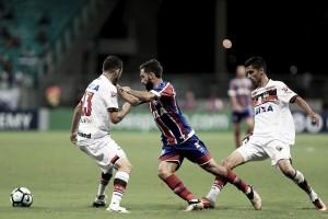 Resultado Atlético-GO x Bahia pelo Campeonato Brasileiro 2017 (1-1)