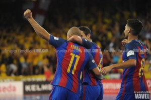 El Barça Lassa arrolla al Movistar Inter en una magnífica primera mitad