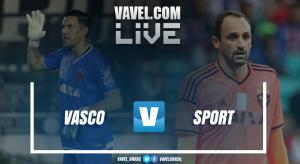 Resultado Vasco 2x1 Sport no Brasileirão 2017