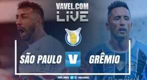 Resultado Grêmio x São Paulo pelo Campeonato Brasileiro 2017 (1-0)
