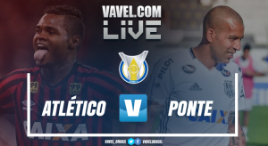Resultado e gols Atlético-PR x Ponte Preta no Campeonato Brasileiro 2017 (0-2)