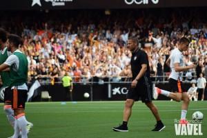 Curro Torres se despide del Valencia Mestalla