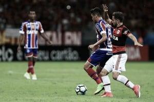 Flamengo e Bahia medem forças em busca de boa fase no Brasileirão