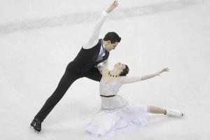 Campionati Europei, pattinaggio di figura: meravigliosi Cappellini-Lanotte, primi dopo la short dance