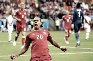 Dinamarca dio un golpe sorpresivo en la Copa del Mundo ante Perú