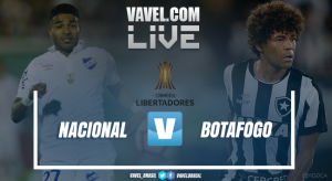 Resultado Nacional x Botafogo na Copa Libertadores 2017 (0-1)