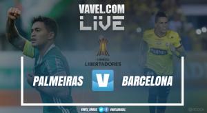 Barcelona SC tuvo que esperar hasta el final para sellar su clasificación ante Palmeiras