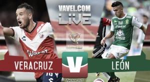 Resultado y goles del Veracruz 1-2 León de la Copa MX 2017