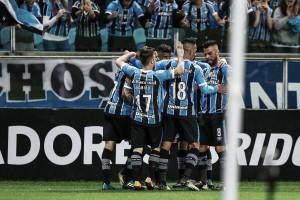 Grêmio vira sobre Godoy Cruz com dois de Pedro Rocha e quebra sina para avançar às quartas