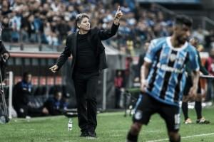 """Renato garante busca do Grêmio pelos títulos no ano: """"Enquanto tiver chances, vamos brigar"""""""