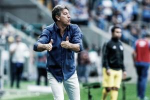 Mesmo com revés, Renato elogia atuação do Grêmio e reafirma moral do time como imensa