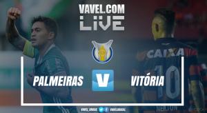Resultado e gols Palmeiras 4x2 Vitória no Brasileiro 2017