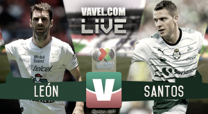 Resultado y goles del León FC vs Santos Laguna (1-2)