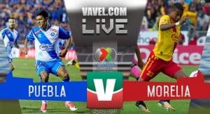 Resultado y goles del Puebla 1-1 Morelia de la Liga MX 2017