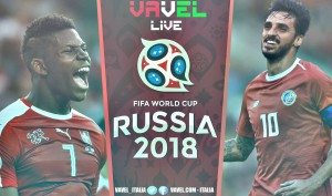 Terminata Svizzera - Costa Rica, LIVE Mondiali Russia 2018 (2-2): Agli ottavi ci vanno i rossocrociati