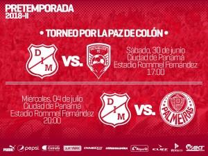 Medellín cae en su primer juego amistoso en Panamá