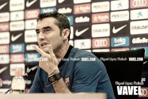 Ernesto Valverde: ''Al equipo le pongo un diez hasta ahora''