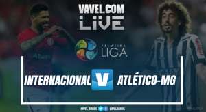 Resultado Internacional x Atlético Mineiro (0-1)