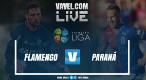 Resultado Flamengo x Paraná pela Primeira Liga 2017 (1-1)