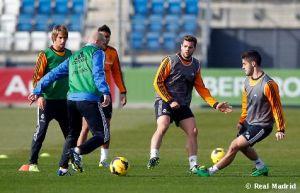 Sin descanso, el Madrid empezó a preparar el duelo ante el Espanyol