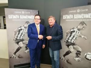 """Udinese - Presentata la campagna abbonamenti, serve l""""Istinto bianconero"""" per tornare ai livelli passati"""