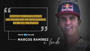 """Marcos Ramírez, a fondo: """"Estoy orgulloso de pasear mi bandera por el mundo"""""""