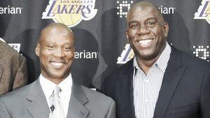 Magic Johnson no duda en opinar sobre los Lakers