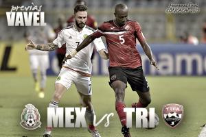 México vs Trinidad y Tobago: la previa, horario y alineaciones