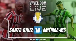 Jogo Santa Cruz x América-MG AO VIVO online no Campeonato Brasileiro da Série B 2017 (0-1)