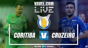 Resultado Coritiba x Cruzeiro pelo Campeonato Brasileiro (1-0)
